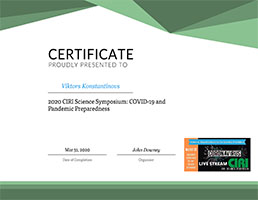 certificate covid19 bms technologies